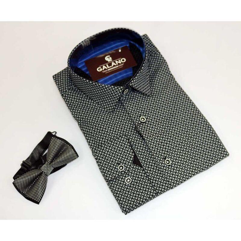 Кофта, рубашка, футболка мужская Galano Рубашка Slim fit - фото 2
