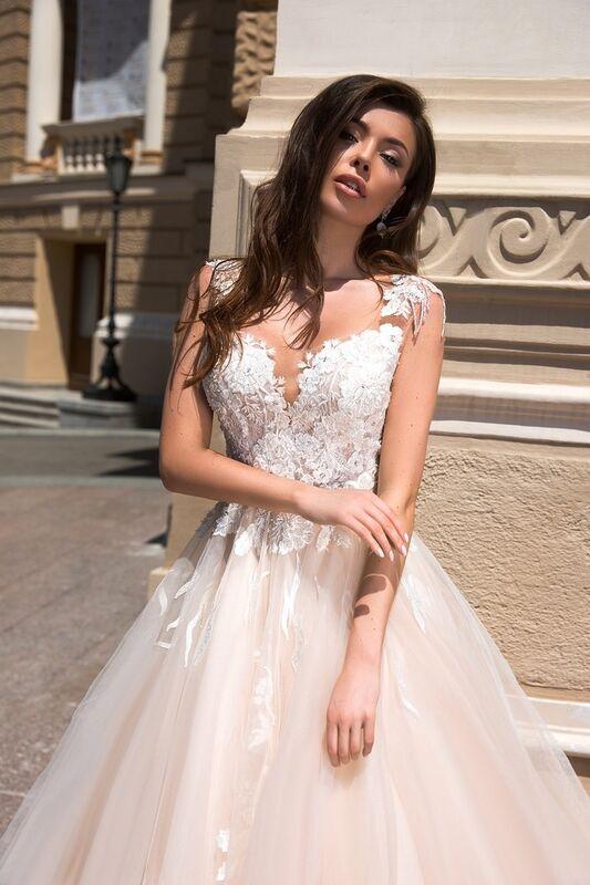 Свадебный салон Ida Torez Свадебное платье Cupraea Tigris - фото 2