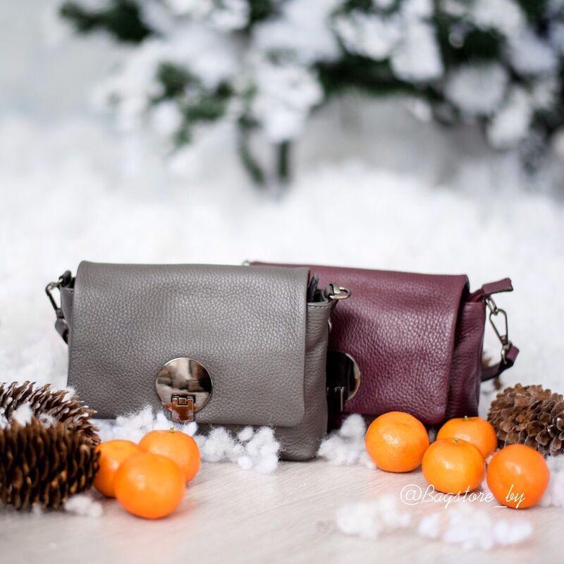 Магазин сумок Vezze Кожаная женская сумка C00424 - фото 1
