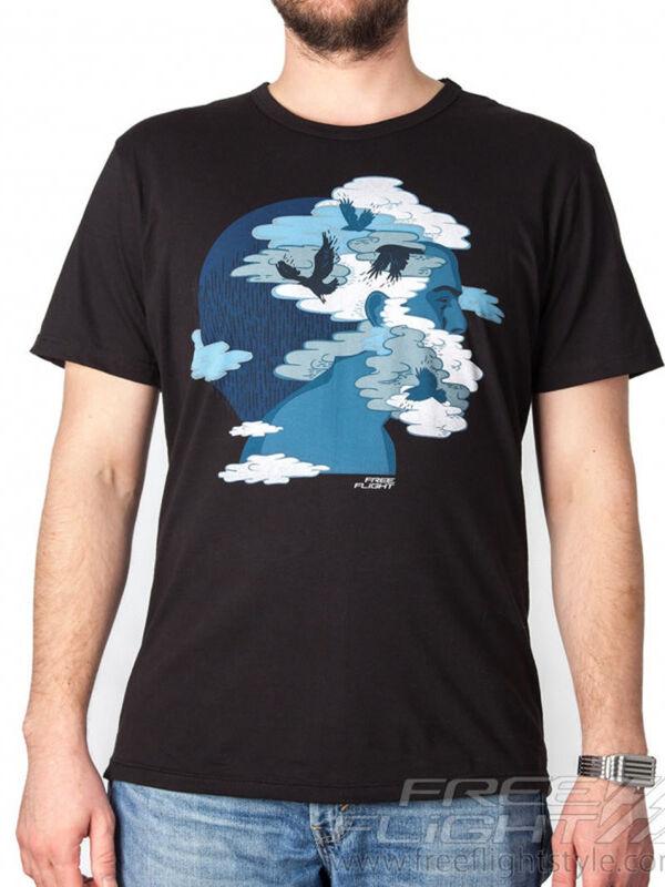Кофта, рубашка, футболка мужская Free Flight Футболка «Мозги» SKU0034000 - фото 1