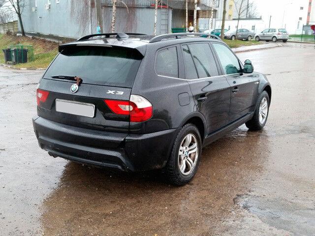 Прокат авто BMW X3 - фото 3
