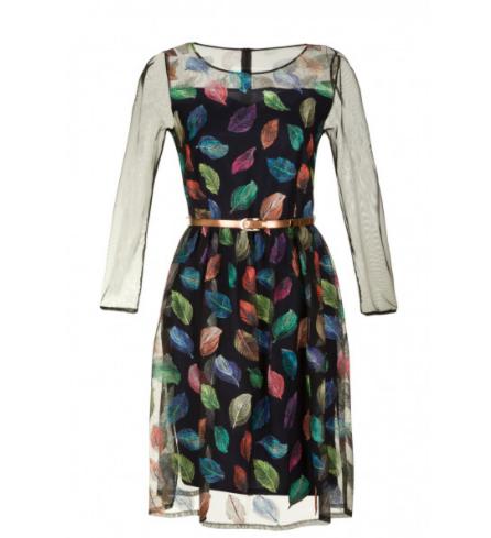 Платье женское Poza Платье Polina (листья) - фото 1