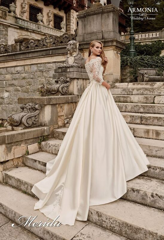 Свадебное платье напрокат Armonia Свадебное платье Merida - фото 3