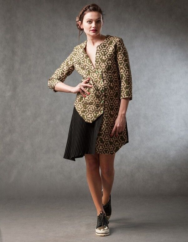 Платье женское MISUTERI Платье Reincoto Green MSS0023 - фото 1