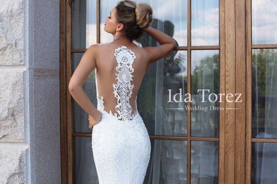 Свадебное платье напрокат Ida Torez Свадебное платье Judith - фото 3