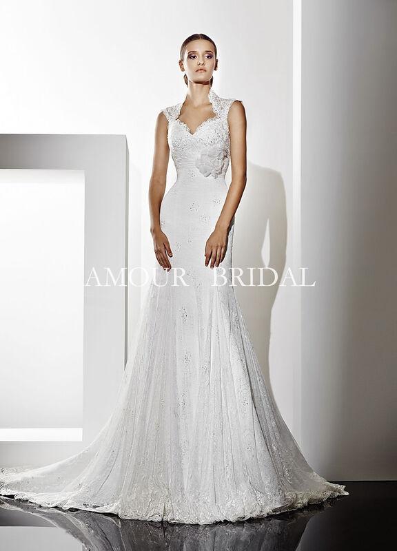 Свадебное платье напрокат Amour Bridal Платье свадебное 1254 - фото 1