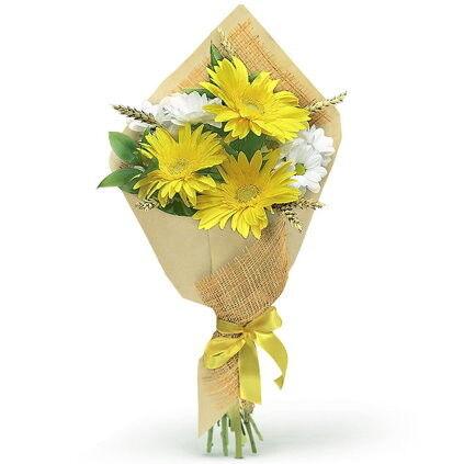 Магазин цветов Долина цветов Букет «Золотая осень» - фото 1