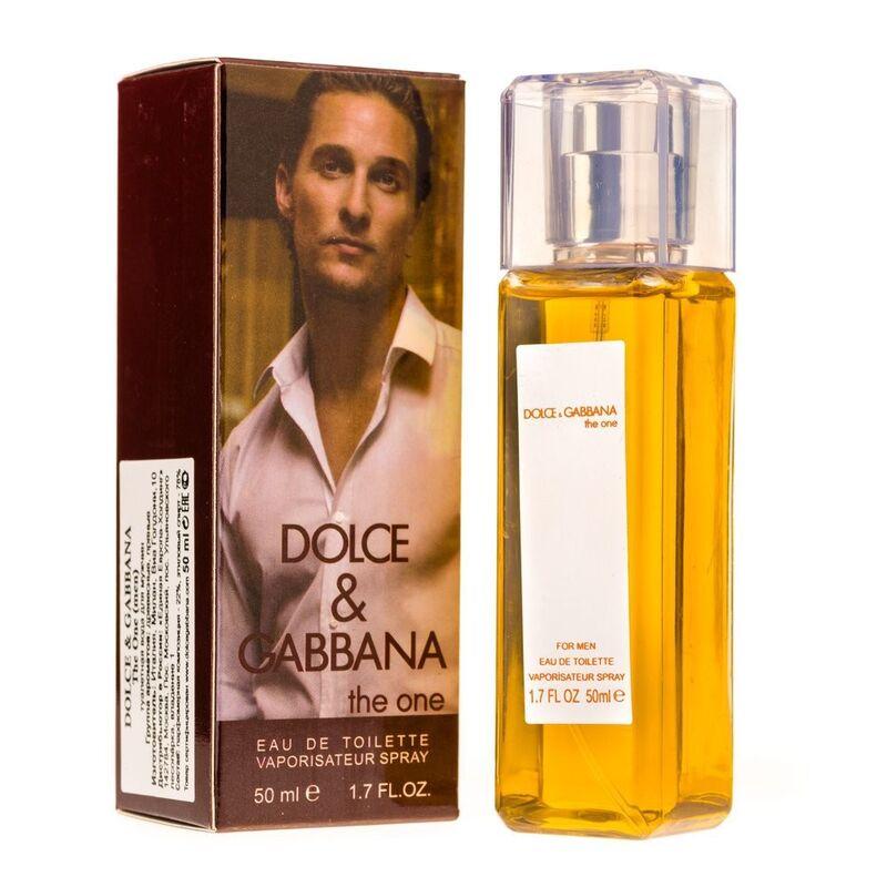 Парфюмерия Dolce&Gabbana Мини туалетная вода The One For Men, 50 мл - фото 1