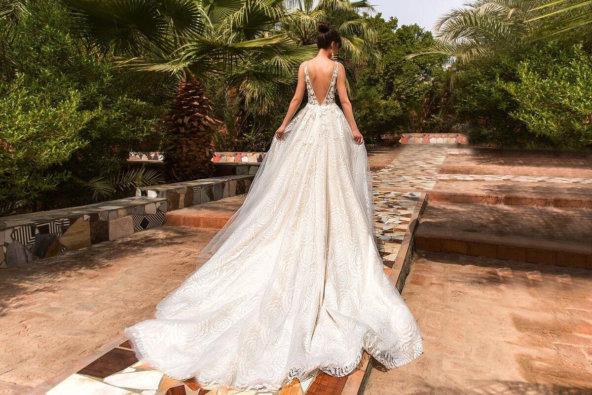 Свадебное платье напрокат Crystal Платье свадебное Rainbow - фото 3
