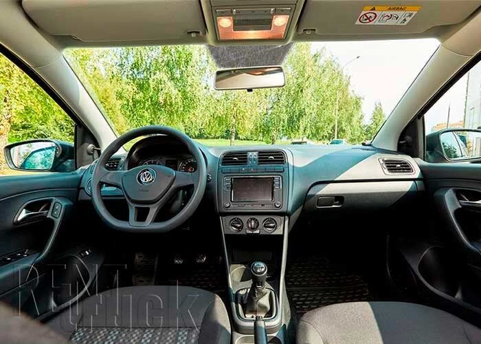 Прокат авто Volkswagen Polo Sedan 2018 г. - фото 7
