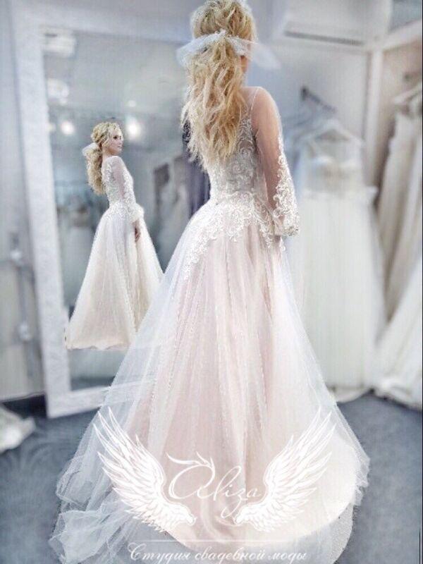 """Свадебное платье напрокат ALIZA Платье """"Delux"""" - фото 1"""