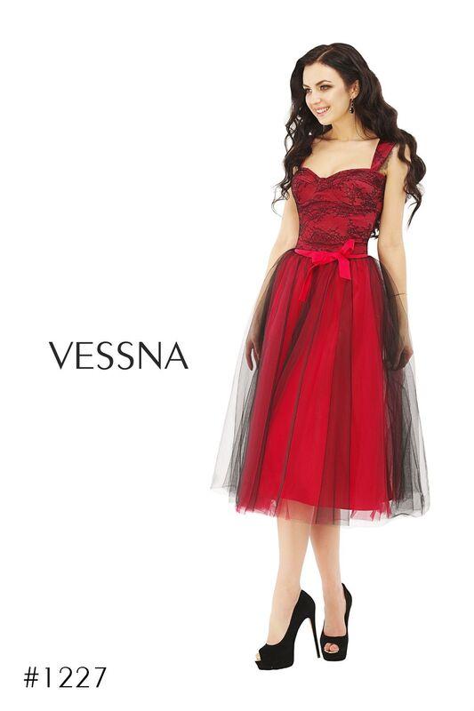 Вечернее платье Vessna Топ и Юбка-пачка арт.1227 из коллекции VESSNA Party - фото 1