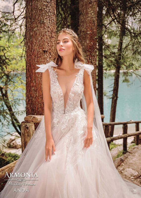 Свадебный салон Armonia Свадебное платье Anda - фото 2