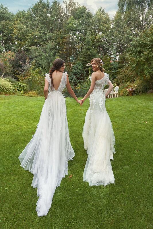 Свадебный салон Papilio Свадебное платье «Моризо» модель 19/2000 - фото 5