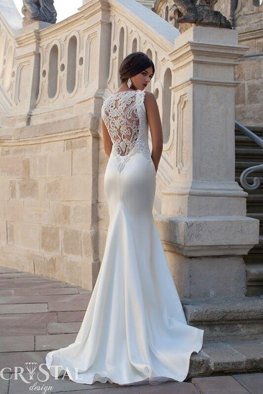 Свадебное платье напрокат Crystal Свадебное платье Calipso - фото 1