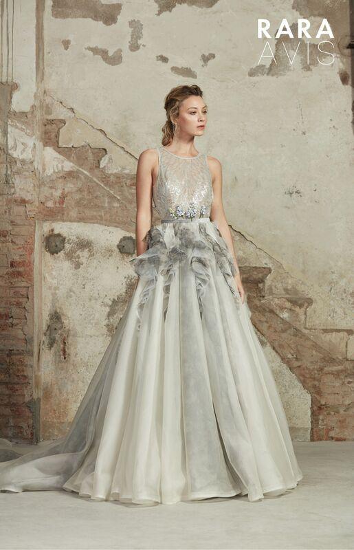 Свадебный салон Rara Avis Свадебное платье Floral Paradise Lavin - фото 1