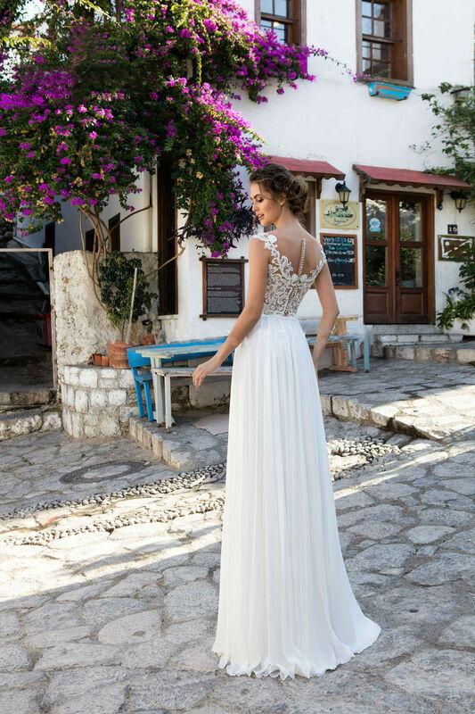 Свадебное платье напрокат Cosmobella Свадебное платье Bliss - фото 2