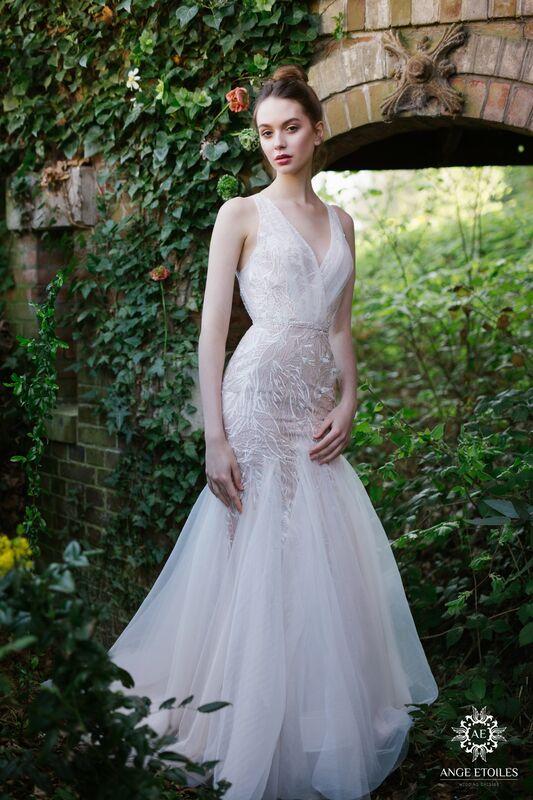 Свадебный салон Ange Etoiles Свадебное платье AEriality Collection Mia - фото 1