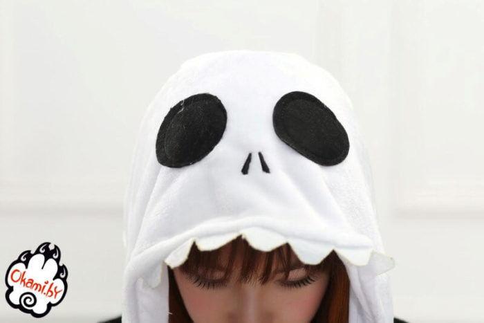 Подарок Taicang Soft Пижама кигуруми «Скелет» - фото 5