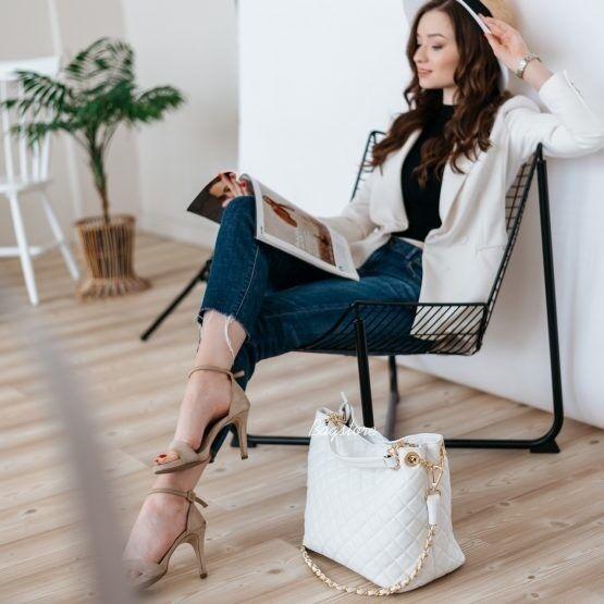 Магазин сумок Vezze Кожаная женская сумка C00512 - фото 1