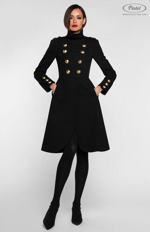 Верхняя одежда женская Pintel™ Двубортное приталенное пальто SHANICE - фото 4