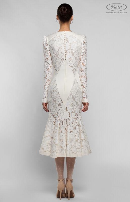 Платье женское Pintel™ Приталенное миди-платье MAURINNIKA - фото 4