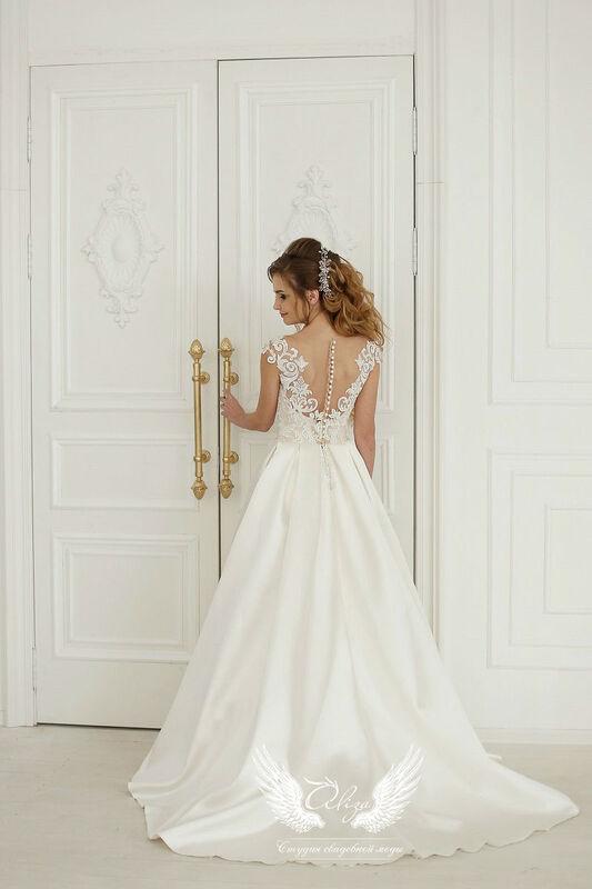 Свадебное платье напрокат ALIZA Свадебное платье «Verona» - фото 3