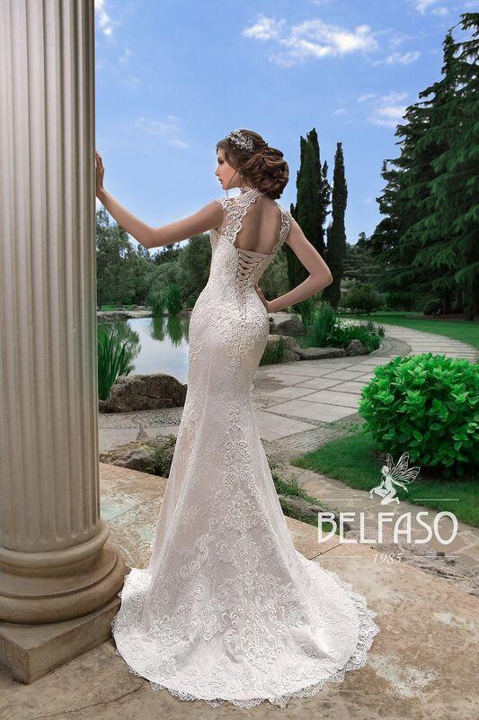 Свадебное платье напрокат Belfaso Платье свадебное Gvinet - фото 2