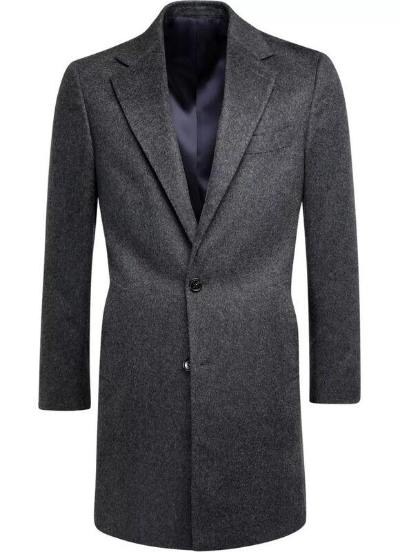 Верхняя одежда мужская SUITSUPPLY Пальто мужское Vicenza J460 - фото 2