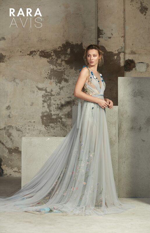 Свадебный салон Rara Avis Свадебное платье Floral Paradise Lofgren - фото 1