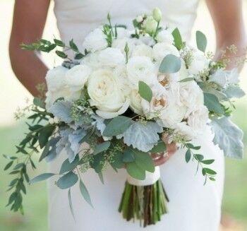 Магазин цветов Ветка сакуры Свадебный букет № 101 - фото 1