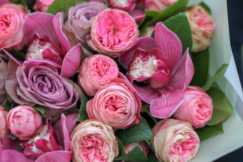 Магазин цветов Cvetok.by Букет «Малиновка» - фото 2