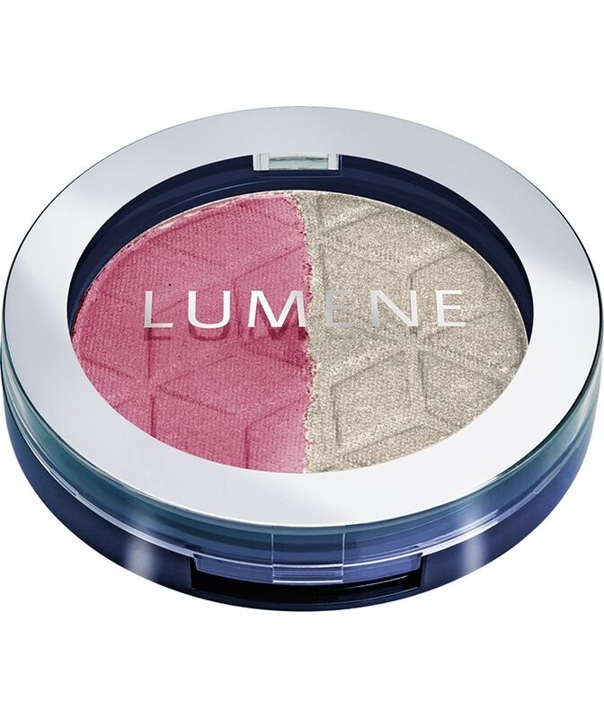 Декоративная косметика LUMENE Тени для век устойчивые двойные Blueberry Duет, оттенок 5 - фото 1