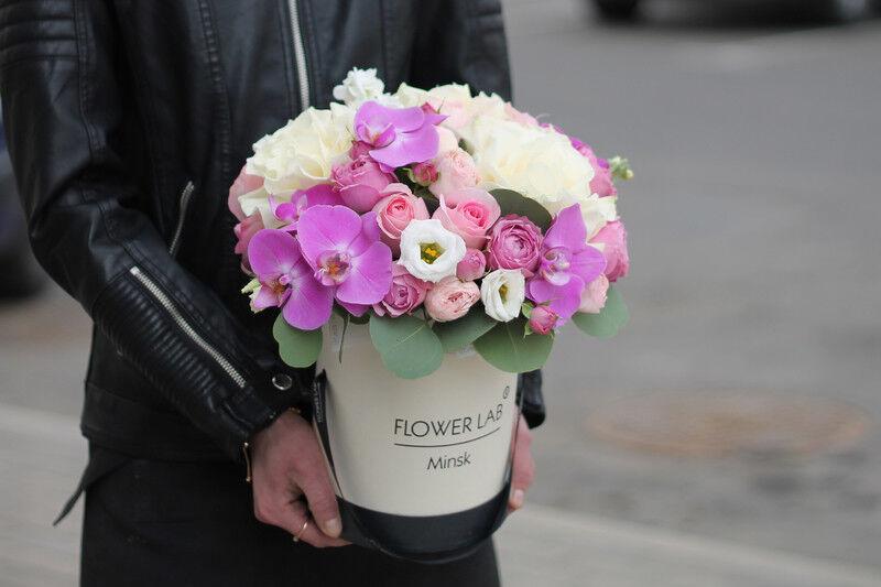 Магазин цветов Cvetok.by Коробочка «Афина» - фото 2