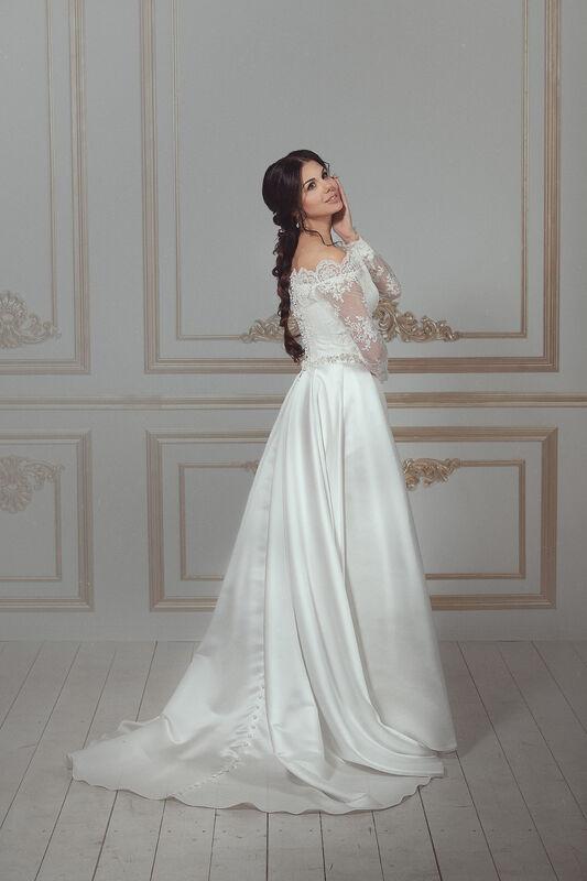 Свадебное платье напрокат Артемида Платье свадебное Donatella - фото 1