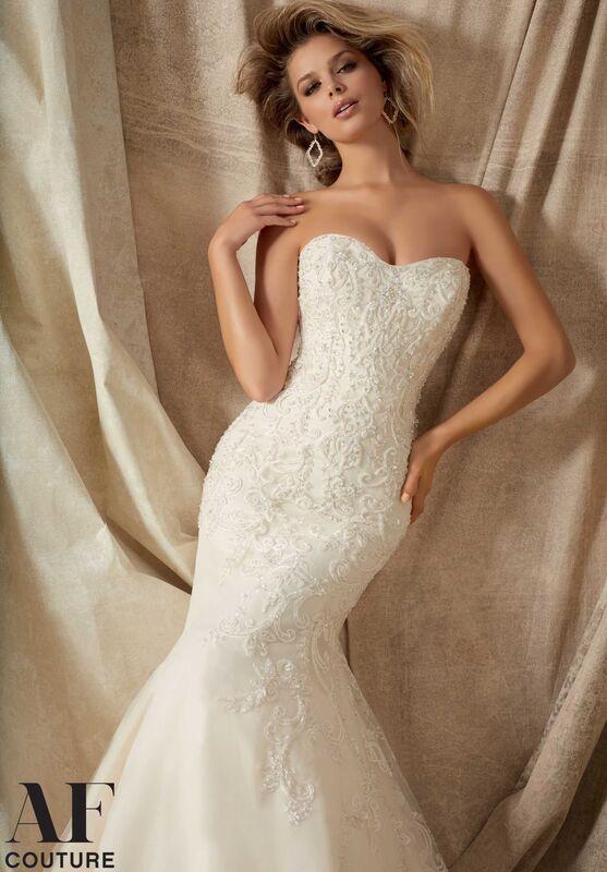Свадебное платье напрокат Mori Lee Свадебное платье 1322 - фото 2