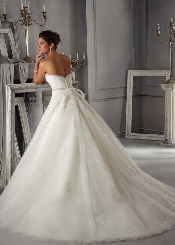 Свадебное платье напрокат Mori Lee Платье свадебное 5263 - фото 2