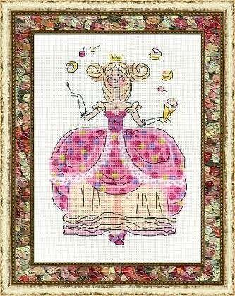 Товар для рукоделия Риолис Набор для вышивания «Принцесса Драже» - фото 1