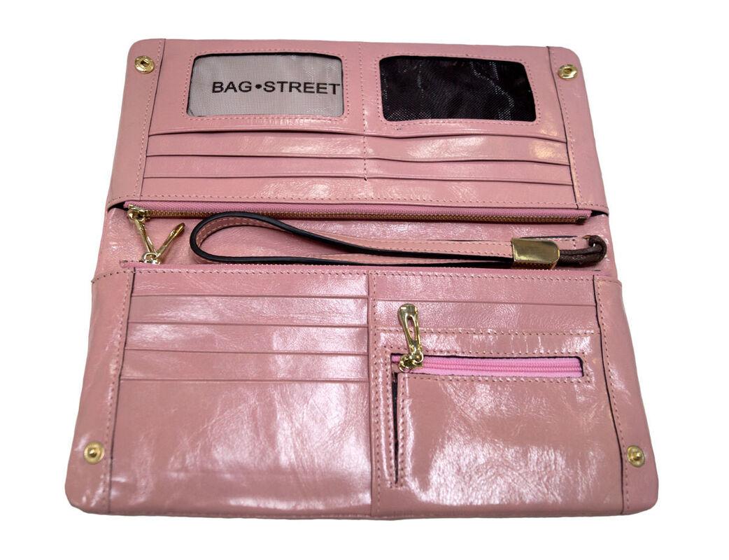 Магазин сумок Rozan Клатч - кошелек женский коричневый 3108 - фото 3