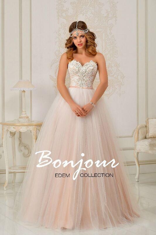 Свадебное платье напрокат Bonjour Платье свадебное «Ariella» из коллекции EDEM L'ECLAT 2016 - фото 1