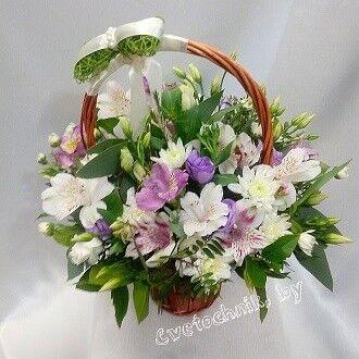 Магазин цветов Цветочник Корзина цветов №2 - фото 1