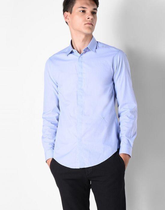 Кофта, рубашка, футболка мужская Trussardi Рубашка мужская 52C37 _510069 - фото 2