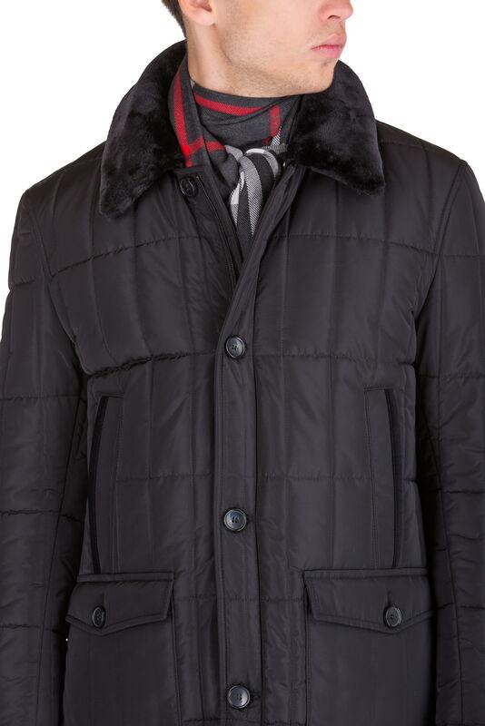 Верхняя одежда мужская HISTORIA Куртка утепленная черная WJ.B.Cri004 - фото 4