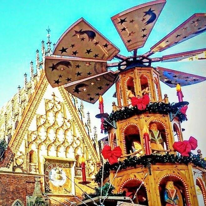 Туристическое агентство Респектор трэвел Экскурсионный автобусный тур в Польшу. Рождественская ярмарка во Вроцлаве. - фото 1