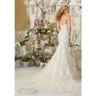 Свадебное платье напрокат Mori Lee Платье свадебное 2825 - фото 2