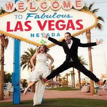 Туристическое агентство СВ-тур Свадебная церемония у знака Las Vegas в Лас-Вегасе - фото 1