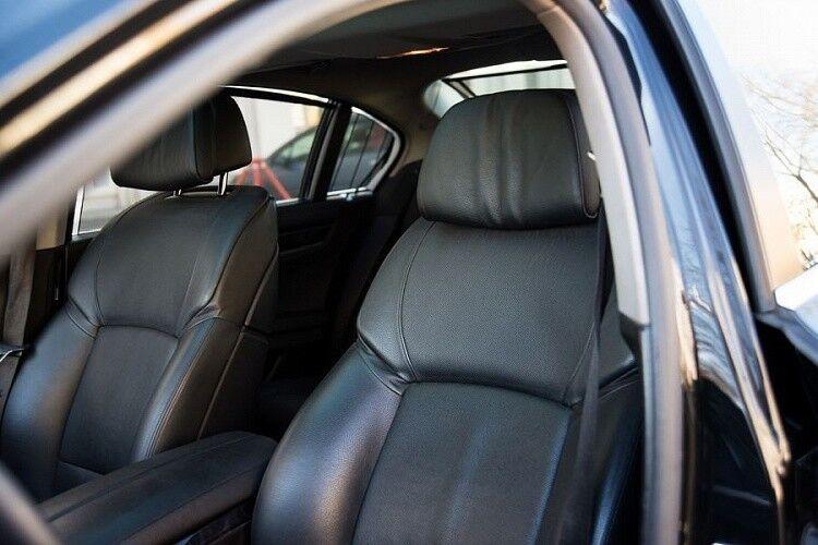 Прокат авто BMW F02 7 series черного цвета - фото 11