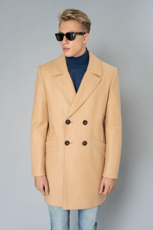 Верхняя одежда мужская Etelier Пальто мужское демисезонное 1М-8952-1 - фото 1
