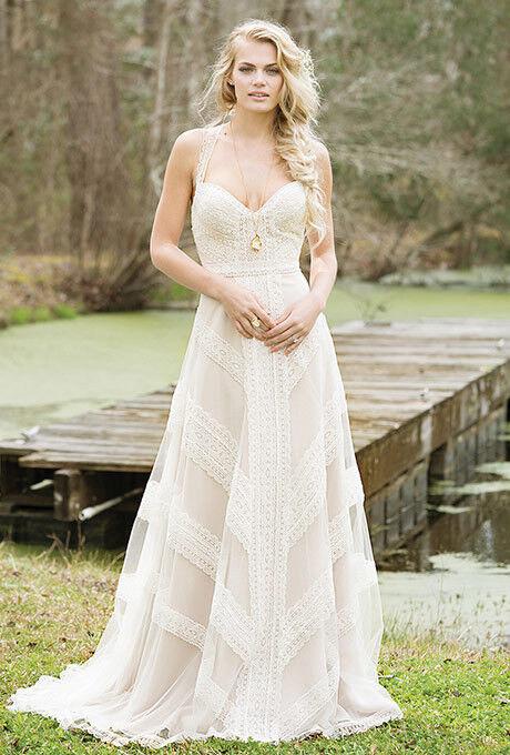 Свадебное платье напрокат Lillian West Свадебное платье 6468 - фото 1