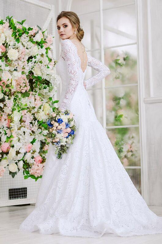 Свадебное платье напрокат ALIZA Свадебное платье «Mishel» Diva Vivien - фото 1